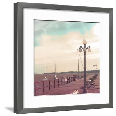 Vintage Sea Port-Andrekart Photography-Framed Photographic Print