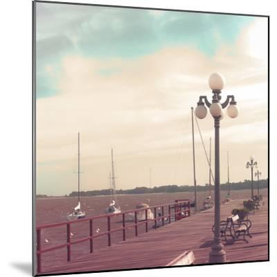 Vintage Sea Port-Andrekart Photography-Mounted Photographic Print