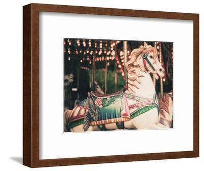 Vintage Carousel Horse-Andrekart Photography-Framed Photographic Print