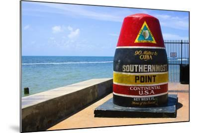 Southernmost Point in Continental USA in Key West,Florida-nito-Mounted Photographic Print