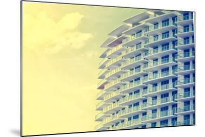 Picture of Buildings and Architecture Details in Miami Beach, Florida-Wilson Araujo-Mounted Photographic Print