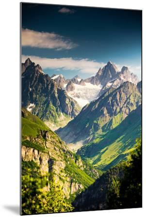 Beautiful Walley in Caucasus Mountains in Upper Svaneti, Georgia-My Good Images-Mounted Photographic Print