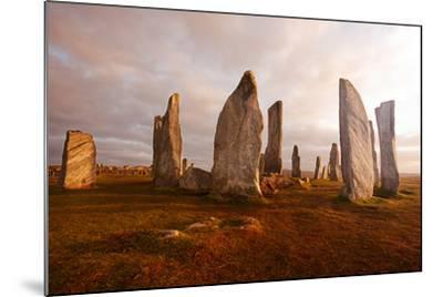 Callanish Standing Stones: Neolithic Stone Circle in Isle of Lewis, Scotland-unknown1861-Mounted Photographic Print