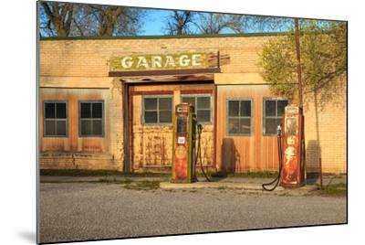 Old Service Station in Rural Utah, Usa.-Johnny Adolphson-Mounted Photographic Print