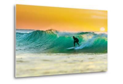 Sunrise Surfing-sw_photo-Metal Print