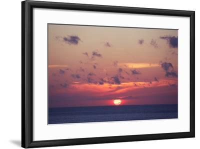 Ocean Sunrise in Indonesia- dmitry_islentev-Framed Photographic Print