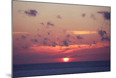 Ocean Sunrise in Indonesia- dmitry_islentev-Mounted Photographic Print