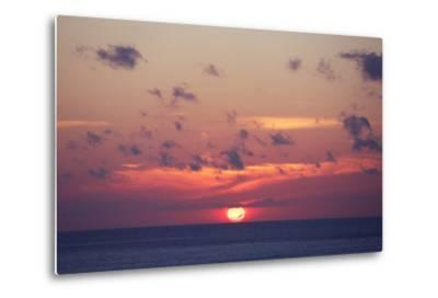 Ocean Sunrise in Indonesia- dmitry_islentev-Metal Print