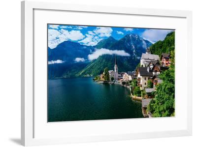 Seaside Villa. Italy-standret-Framed Photographic Print