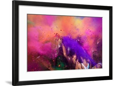 Color Festival-Adam Filipowicz-Framed Photographic Print