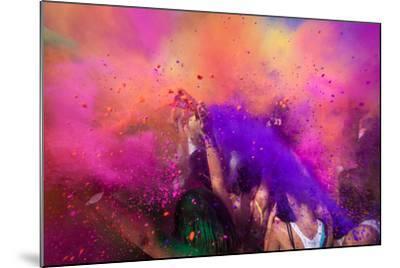 Color Festival-Adam Filipowicz-Mounted Photographic Print