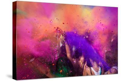 Color Festival-Adam Filipowicz-Stretched Canvas Print