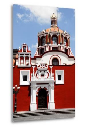 Santo Domingo Church, Puebla (Mexico)-Alberto Loyo-Metal Print