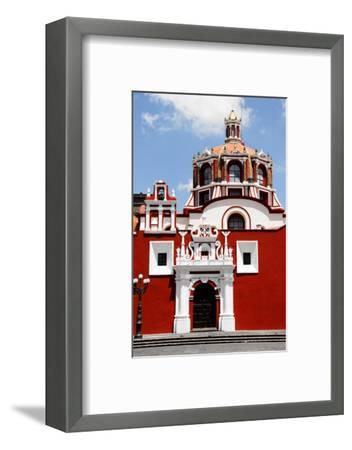 Santo Domingo Church, Puebla (Mexico)-Alberto Loyo-Framed Photographic Print