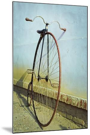 Penny Farthing ,High Wheel,Bicycle,Retro,Vertical- unclepepin-Mounted Photographic Print