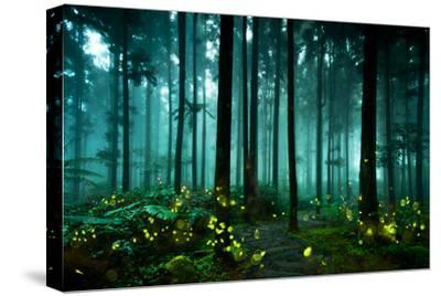 Firefly-htu-Stretched Canvas Print