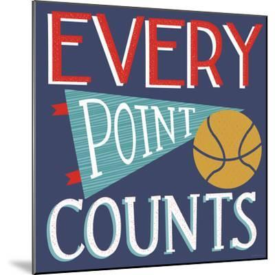 Every Point Counts-Heather Rosas-Mounted Art Print