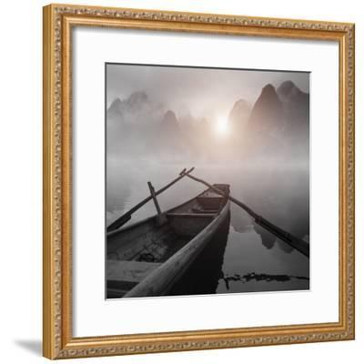 My Journey Color-Moises Levy-Framed Photographic Print