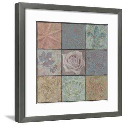 Classic Ornaments Nine Square-Cora Niele-Framed Photographic Print