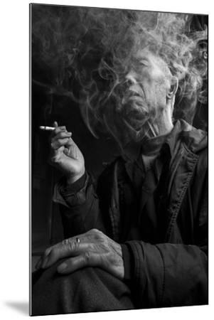 Smoke Man 1-Moises Levy-Mounted Photographic Print