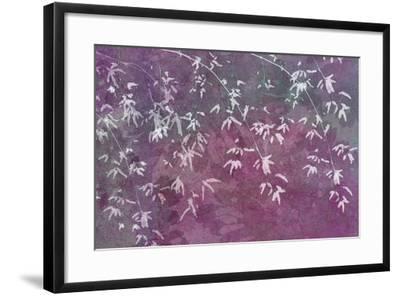 Floral Flurry Violet-Cora Niele-Framed Photographic Print