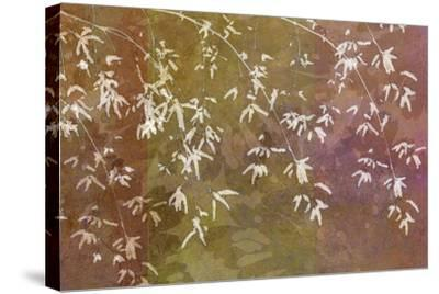 Floral Flurry Bronze-Cora Niele-Stretched Canvas Print