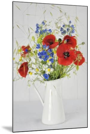 Jug with Wildflowers-Cora Niele-Mounted Photographic Print