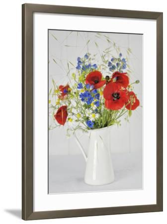 Jug with Wildflowers-Cora Niele-Framed Photographic Print