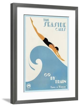 Travel 0243-Vintage Lavoie-Framed Giclee Print