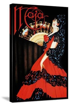 Cosmetics 010-Vintage Lavoie-Stretched Canvas Print