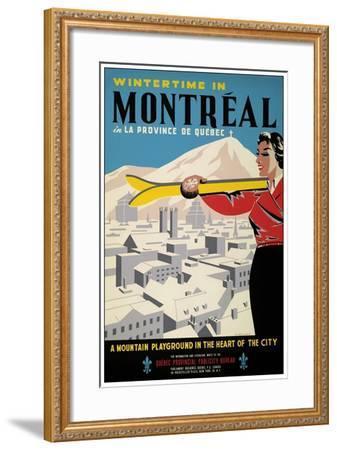 Travel 0245-Vintage Lavoie-Framed Giclee Print