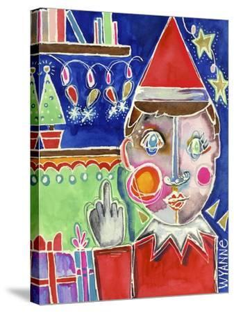 Elf the Shelf-Wyanne-Stretched Canvas Print