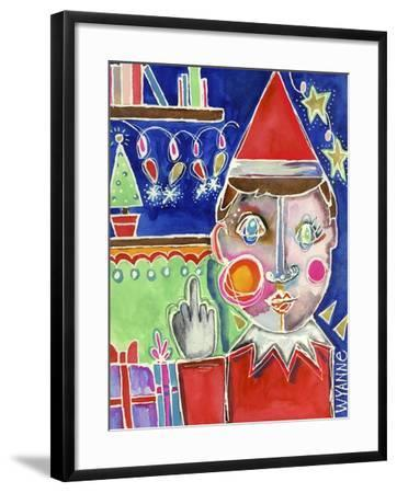 Elf the Shelf-Wyanne-Framed Giclee Print