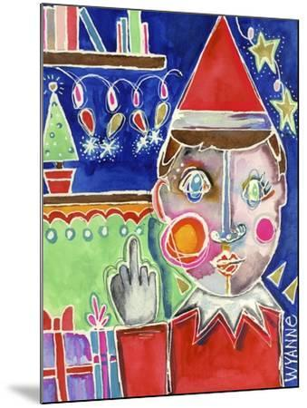 Elf the Shelf-Wyanne-Mounted Giclee Print