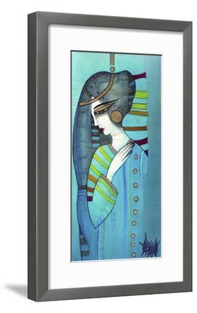 Bleu-Albena Vatcheva-Framed Giclee Print