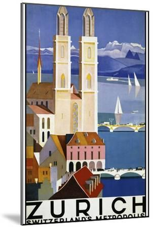 Travel 0280-Vintage Lavoie-Mounted Giclee Print