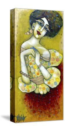 La Muse De Mes 20 Ans-Albena Vatcheva-Stretched Canvas Print