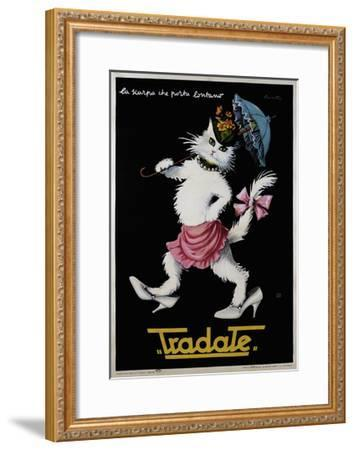 Fashion 025-Vintage Lavoie-Framed Giclee Print