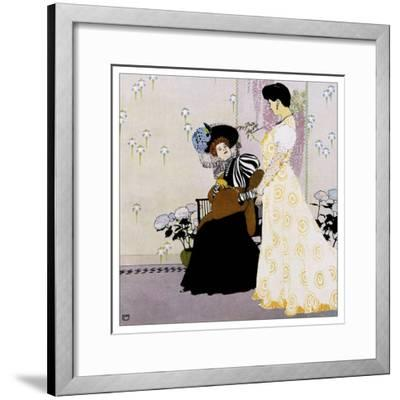 Fashion 027-Vintage Lavoie-Framed Giclee Print