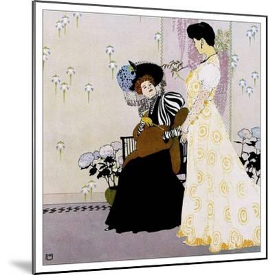 Fashion 027-Vintage Lavoie-Mounted Giclee Print