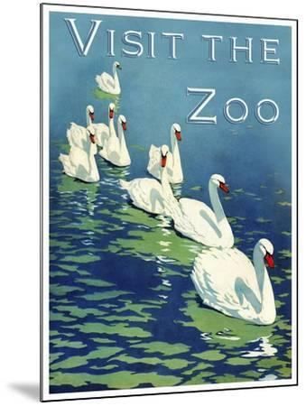 The Zoo 002-Vintage Lavoie-Mounted Giclee Print