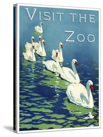 The Zoo 002-Vintage Lavoie-Stretched Canvas Print