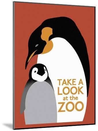 The Zoo 007-Vintage Lavoie-Mounted Premium Giclee Print