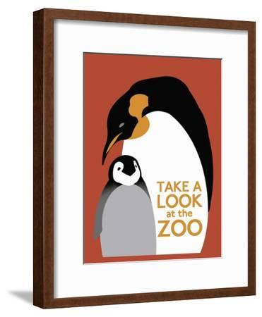The Zoo 007-Vintage Lavoie-Framed Premium Giclee Print