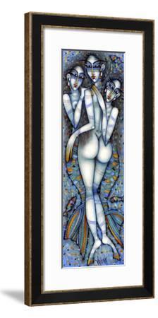 Les Petites Sirenes D'andersen-Albena Vatcheva-Framed Giclee Print