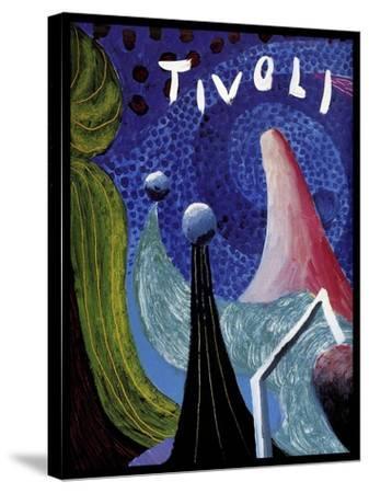 Travel 0358-Vintage Lavoie-Stretched Canvas Print