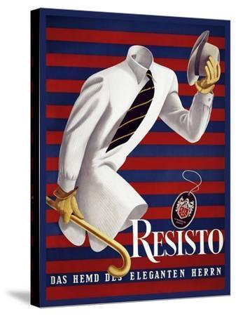 Fashion Men 041-Vintage Lavoie-Stretched Canvas Print