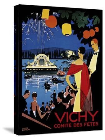 Travel 0405-Vintage Lavoie-Stretched Canvas Print