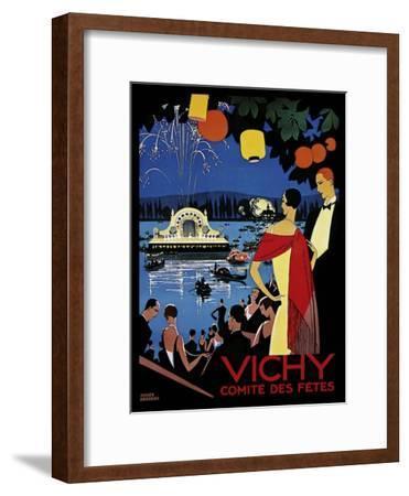 Travel 0405-Vintage Lavoie-Framed Giclee Print
