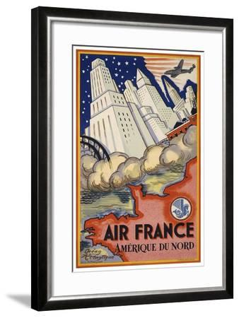 Travel Air 0006-Vintage Lavoie-Framed Giclee Print